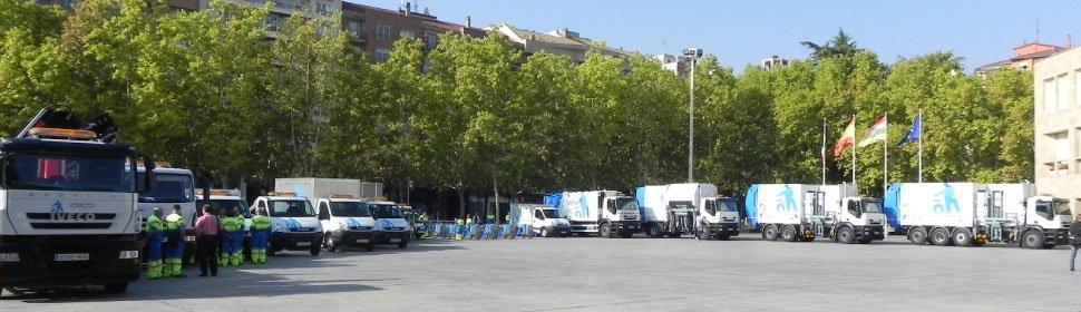 Flota de vehículos en Ayto. de Logroño