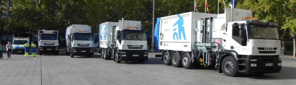 Camiones en Ayto. de Logroño